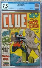 CLUE COMICS #1 CGC 7.5 VF- HILLMAN 1/1943