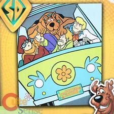 "Scooby Doo Blanket Plush Throw Microfiber Raschel 50"" x 60"" Mystery MachineTwin"