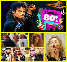 I Love The 80s - Non Stop Dj Video Mix - 100 Minutes of Classic Hitz!!!! 80s Mix