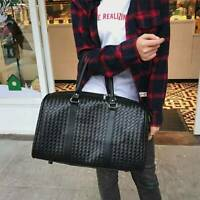Woman Black Travel Golf Bag Overnight Bag Weekend Bag