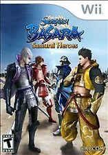 Sengoku Basara: Samurai Heroes (Nintendo Wii) Video GAME Disc Only Rare! 130d