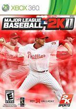 Major League Baseball 2K11 - Microsoft Xbox 360 X360 Game