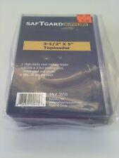 SafTgard 3.5x5 Postcard Photo Prints Top Load Protector Package of 25 NIP