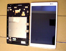 DISPLAY LCD+TOUCH SCREEN +COVER FRAME PER ASUS ZENPAD 8.0 Z380KL BIANCO VETRO