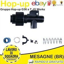 GRUPPO HOP UP SOFTAIR FORMA T SERIE G36 GOLDEN BOW JG WORKS RICAMBI ACCESSORI