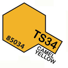 Vernice Spray Per Plastica 100 Ml. Camel Yellow Ts34 TAMIYA