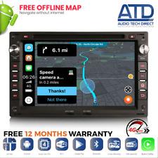 "7"" Android 10.0 Radio Seat Leon Ibiza Alhambra VW Sharan Jetta Golf MK4 Multivan"