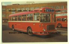 tm236 - Red & White Bus No RS 767 to Cardiff - postcard