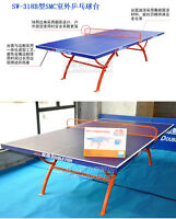Pretty,318B unique quality outdoor table tennis ping pong table, pick up or ship