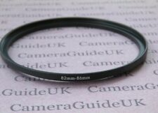82mm to 86mm Male-Female Stepping Step Up Filter Ring Adapter