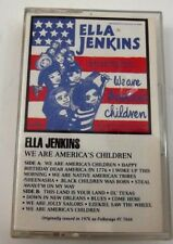 Ella Jenkins We Are Americas Children Cassette With Information Pamplet