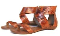 WOMENS MEXICAN HUARACHE SANDALS GLADIADORA STYLE LMS203 Leather Handmade Mexico