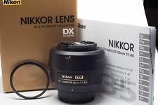 Nikon Nikkor AF-S DX 35 mm F/1.8G Lens
