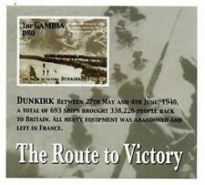 VINTAGE CLASSICS - Gambia 0520 World War II D-Day - Souvenir Sheet - MNH