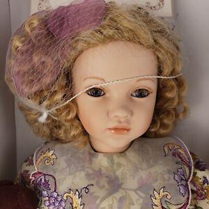 "Robin Porcelain 22"" Doll Pauline Bjonness-Jacobsen Limited Edition w/ Box & COA"