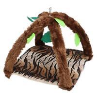 Hammock for Pet Ferret Rat Rabbit Hamster Parrot Cage Hang Bed Plush Vine Toys