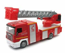 Newray 15573fss 1/43 Camion Pompier avec Echelle (scania)