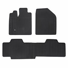 OEM NEW Front & Rear All Weather Floor Mats Black 07-10 Lincoln MKX 7A1Z7813300A
