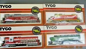 Pick ONE Vintage Tyco HO Burlington, RML, Chattanooga, or Sharknose Locomotive