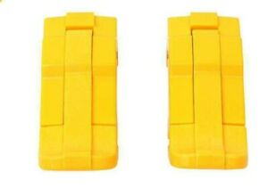 2 1170, 1200, 1300 size Pelican Yellow replacement latches.