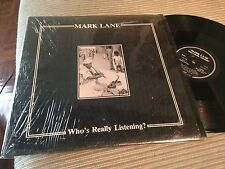 "MARK LANE 12"" LP USA MINIMAL SYNTH WAVE - BLACK VINYL 1984"