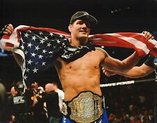 Chris Weidman UFC 11x14 Photo Picture w/ Belt 187 175 168 162 139 131 on Fuel TV