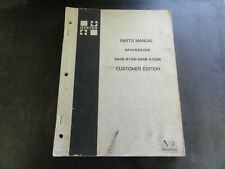 Hyster Spacesaver S60B S70B S80B S100B Forklift Parts Manual