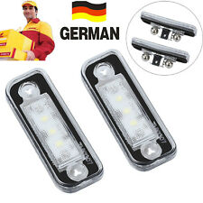 2x LED SMD Kennzeichenbeleuchtung für Mercedes Benz SLK R171 S203 W211 S211