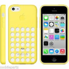 Genuine Original Apple Silicone Dot Case Cover for iPhone 5C - Various Colours