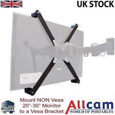 Allcam NON-VESA Monitor Adapter Mount Kit to All Vesa brackets w/Vesa 75 & 100mm