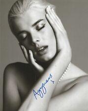Agyness Deyn Signed 10x8 Photo AFTAL