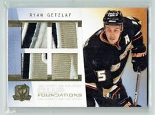 09-10 UD The Cup Foundations  Ryan Getzlaf  /10  Quad Patches