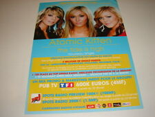 ATOMIC KITTEN THE TIDE IS HIGH!!!!RARE FRENCH PRESS/KIT