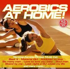 CD Aerobics At Home von Various Artists 4CDs