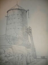 LISTED OTTO ROTHENBURGH DRAWING GREECE