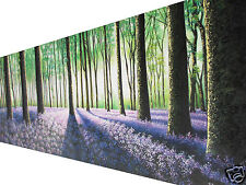 art painting landscape canvas tree forest woods commission 2.1m x70cm large
