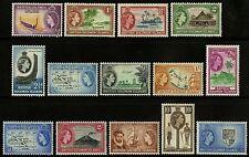 Solomon Islands  1956-60   Scott #  89-105  Mint Lightly Hinged Part Set