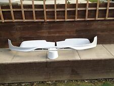 VW T5 TRANSPORTER (03-09) FRONT BUMPER LIP / barn door roof spoiler new