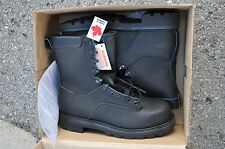 Canadian Army STEEL TOE Temperate Safety Boots Combat Boots NEW 10.5 W (275/104)