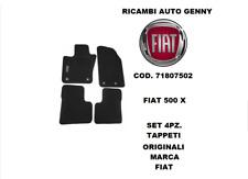 TAPPETI MOQUETTE ORIGINALI FIAT NUOVA 500 X ANT+POST 71807502