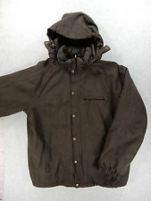 Lands End Insulated Winter Jacket (Mens Large 42-44) Brown