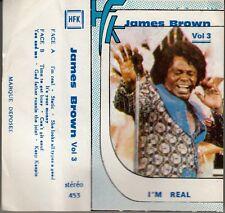 K 7 AUDIO (TAPE) JAMES BROWN   *I'M REAL*