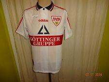 """VfB Stuttgart Adidas DFB Pokal Sieger Trikot 1997 """"Göttinger Gruppe"""" Gr.176- S"""
