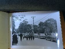 (14) 1955 PHOTOGRAPHS AMITYVILLE LONG ISLAND NEW YORK PARADE & ROOFING A HOUSE