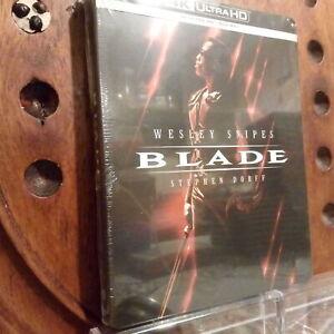 Blade Wesley Snipes Stephen Dorff  SteelBook 4K Blu Ray Nuovo