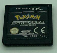 Pokémon Schwarze Edition Modul Nintendo DS Sehr gut ohne OVP und Anleitung DE