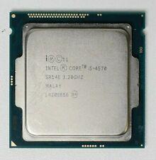 Intel Core i5-4570 3.2GHz Quad Core Desktop CPU Processor LGA1150 6MB SR14E