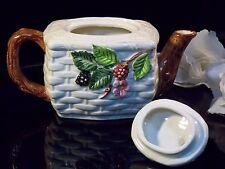 "Small Teapot Shafford ""Berry Time"" Bone China"