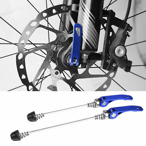 2Pcs 5 Color Bicycle Front Rear Hub Extended Quick Release Levers Bike Supplies