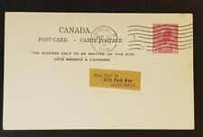 1916 Montreal Canada Canadian Railway Club Invitation Monthly Mtg Postcard Cover